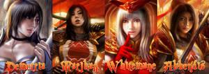 Scarlet Crusade four belles