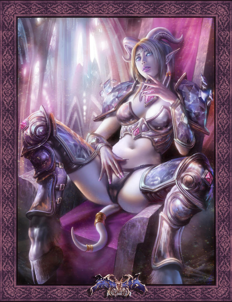 Sexy female draenei
