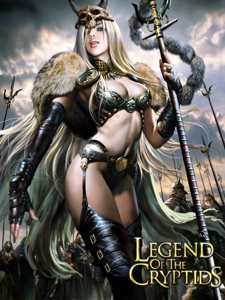 Barbarians queen by azazel1944