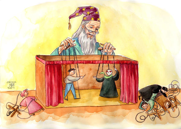 Dumbledore the puppetmaster
