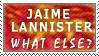 Jaime Lannister Stamp by cabepfir