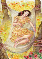 Flower Sleep by cabepfir
