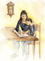 Homeworks together by cabepfir