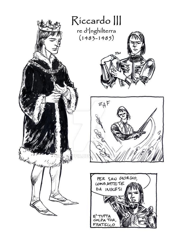Richard III The Boar leaflet by cabepfir