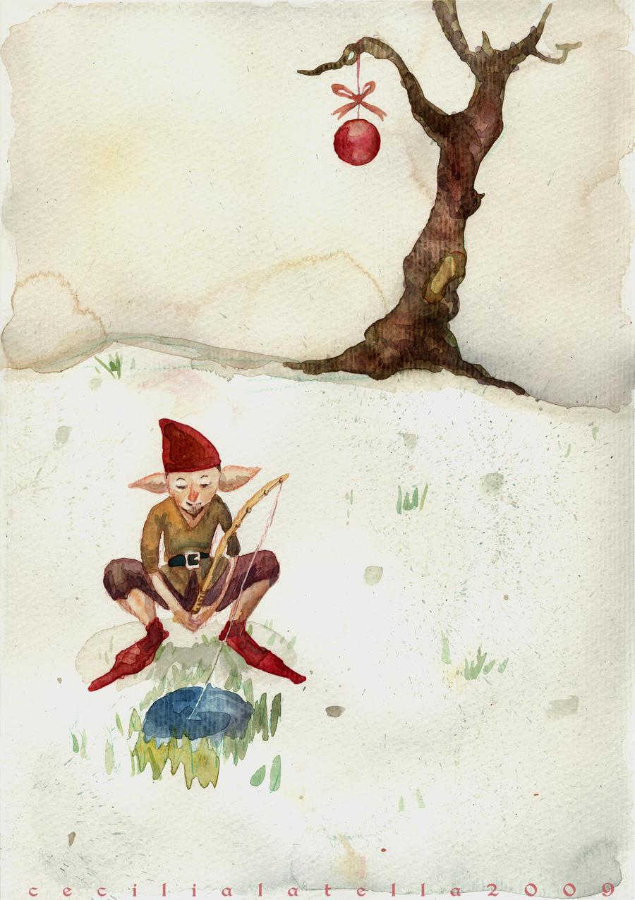 Elf Christmas by cabepfir