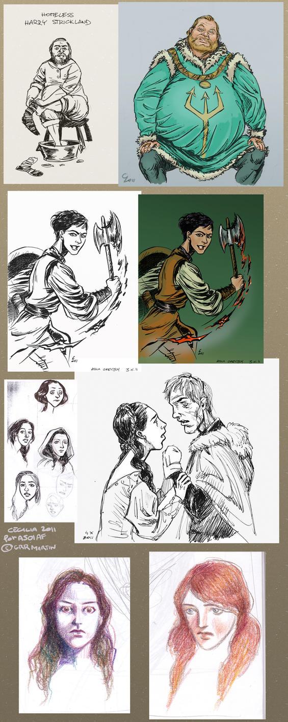 ADwD doodles 1 by cabepfir