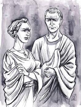 Augustus and Julia the Elder