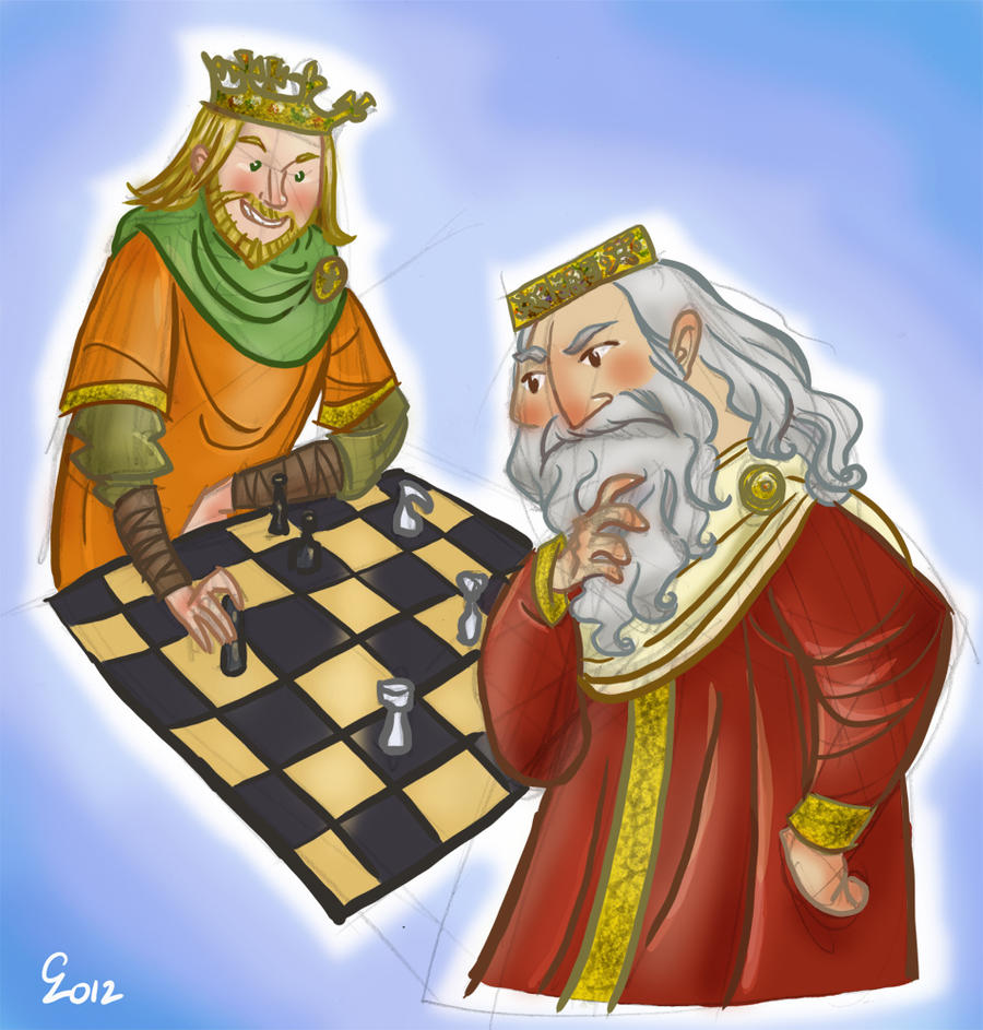 Charlemagne VS King Arthur by cabepfir