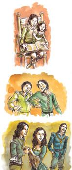 Three Tyrell relationships