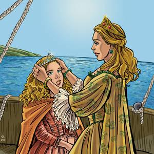 Commission: Cersei and Myrcella