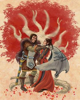 Commission: Blackwood/Stark marriage