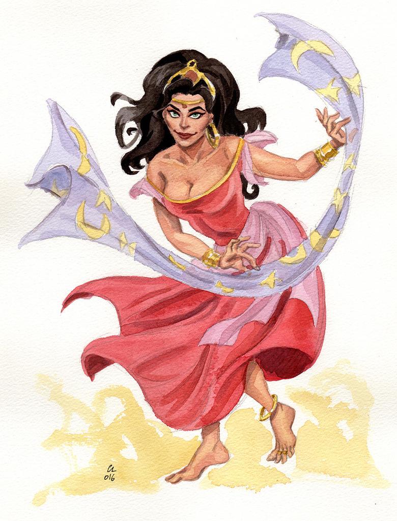 Esmeralda by cabepfir