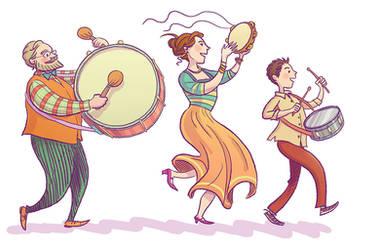 Drums by cabepfir