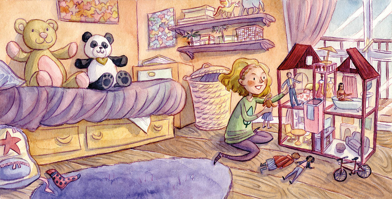 Carolina's room by cabepfir