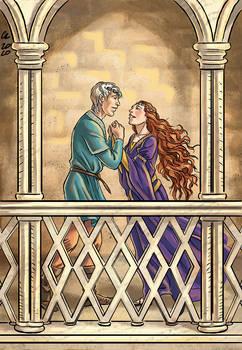 Commission: Bleddyn and Gwendolin