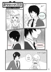 Manga Teaser: The Man Hater By Me