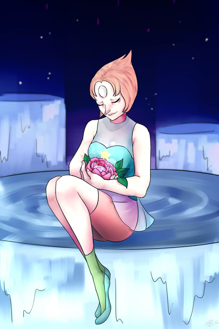 Pearl is one of my fav characters from Steven Universe , she needs more love tho e-e