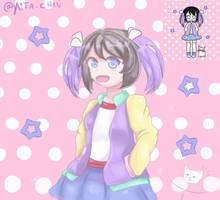 #Pastelgirlchallenge ......  Pastel Girl Challenge by yaita-chan