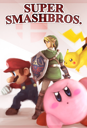 Super Smash Bros by AkariUn