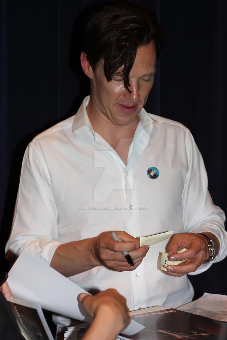 Benedict Cumerbatch by silverspoken2005