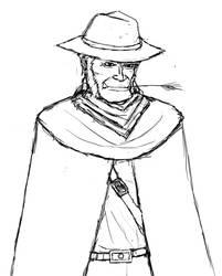 Dakha the gunslinger