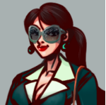 Gangster girl avatar final 02 by K-hermann
