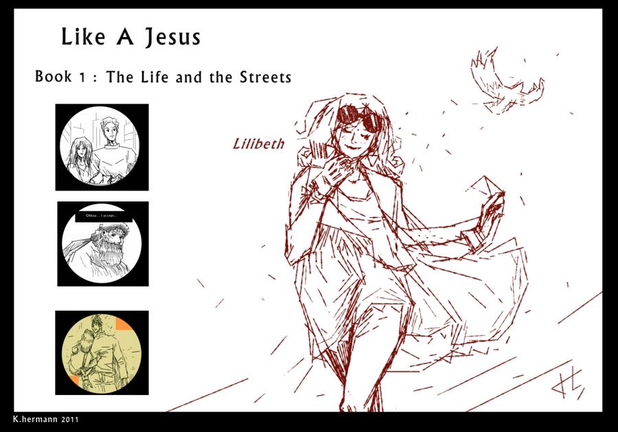 Like a jesus comic cover by K-hermann