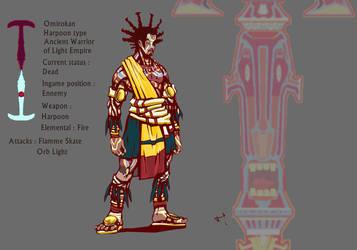 Malaika character Adversary final colors by K-hermann