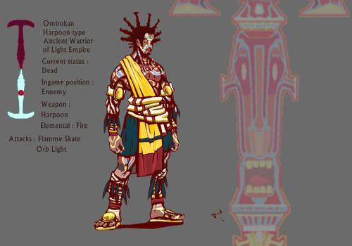 Malaika character Adversary final colors