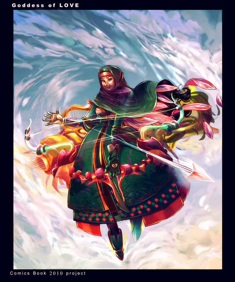 Goddess of Love Yuki comics 2010 by K-hermann