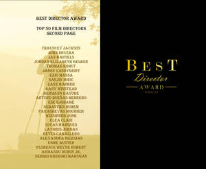 Best Director Award FINALIST Festival 2020