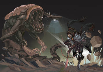 Diablo 3 Fan Art Old step by step