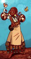 Malaika princess character