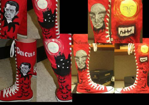 Vampire-Dracula-Nosferatu shoe