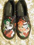 Harley Quinn shoes pt. 2