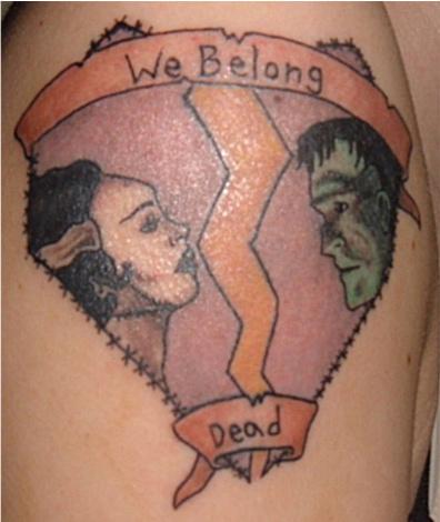 We Belong Dead Tattoo by LaurenWiles