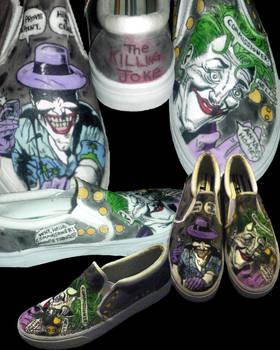 Killing Joke Joker Shoes