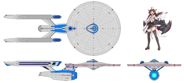 U S S  Kongo [Kai Refit] (Battleship) by Quantum808 on
