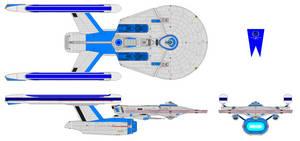 U.S.S. Gran Federal (Battleship) [Type I]