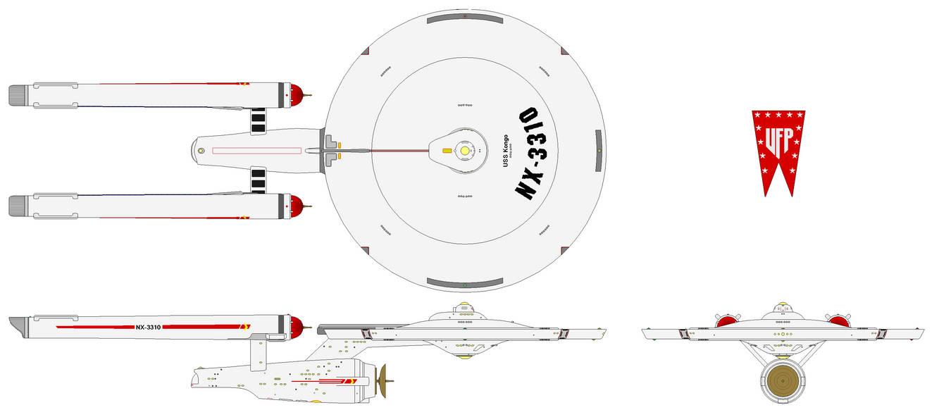 U S S  Kongo (Battleship) [Pilot TOS] by Quantum808 on