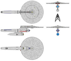 U.S.S. Gantry (Support Frigate) by Quantum808