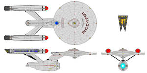 U.S.S. Enterprise (ST I) by Quantum808