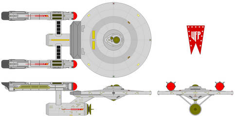Jovia Class Cruiser (Axanar Era) by Quantum808