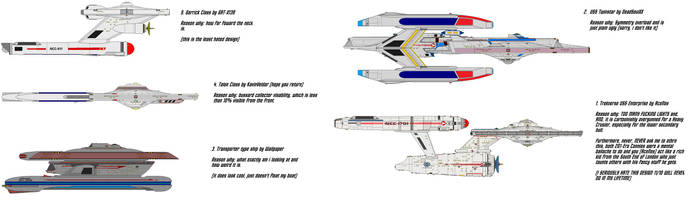 Top 5 hated ship designs by Quantum808