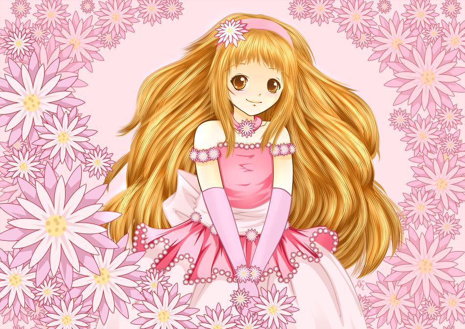 Flower Girl by VAngelLJ