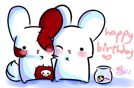 Happy birthday Raincookie :D