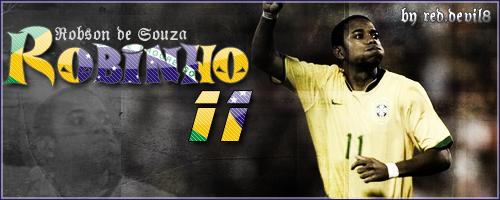 Robson de Souza .. Robinho .. by reddevil8