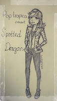 Poptropica fanart Spotted Dragon