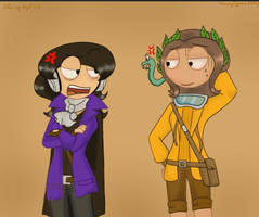 Collabs with BlazingAngel123 !! ^^ by RemyCygnus1601