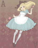 . Alice Doesn't Scream . by patternfactory